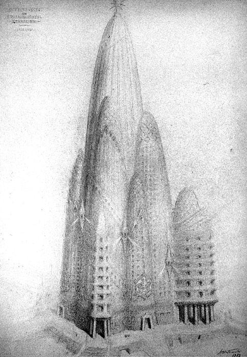 Image result for hotel de gaudi en Nueva york images