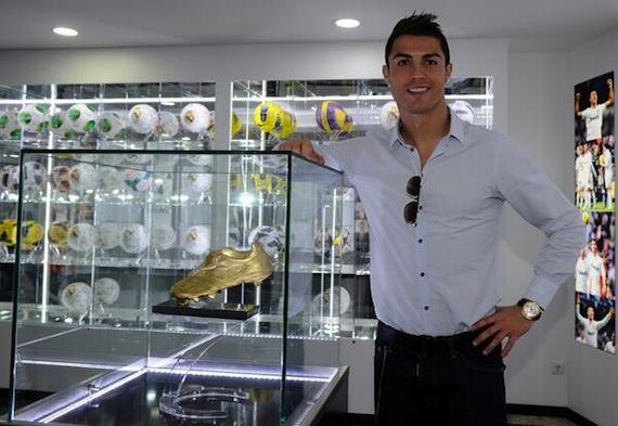 Cristiano Ronaldo inauguró un museo dedicado a su carrera en Portugal. Foto: @Cristiano