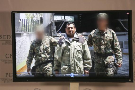 Detención de Alfonso Zamudio Quijada, presunto operador financiero de Los Zetas, grupo más afectado durante este sexenio. Foto: Cuartoscuro