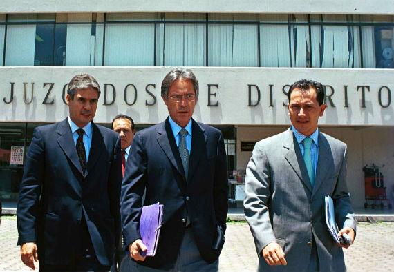 En 2003, el empresario compareció en la Ciudad de México por el delito de defraudación. Foto: Cuartoscuro