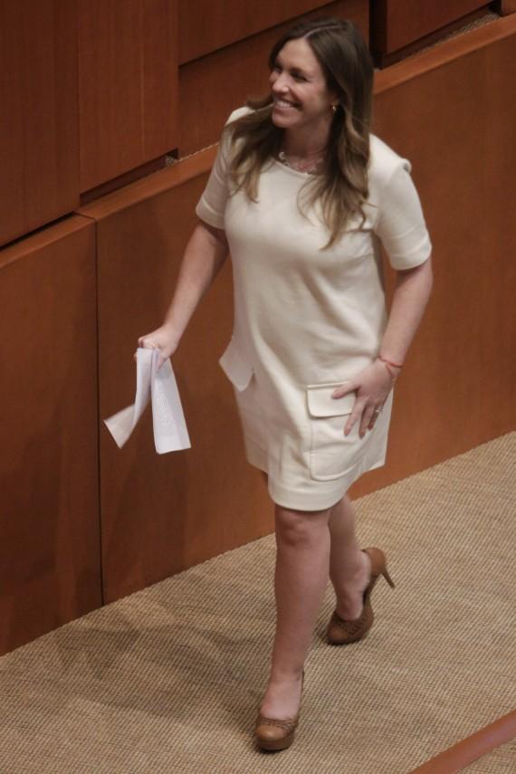 Ninfa Salinas, Senadora del PVEM. Foto: Cuartoscuro