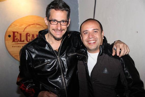 Diego Maroto con su música y Ulises Guzmán con su cine homenajearon la figura del cineasta de culto Juan López Moctezuma. Foto: Especial