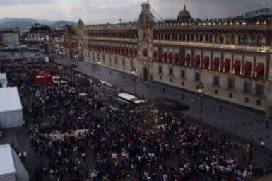 Del 2 de octubre a la fecha, se registraron, en promedio, 2 marchas por semana. Foto: Francisco Cañedo, SinEmbargo