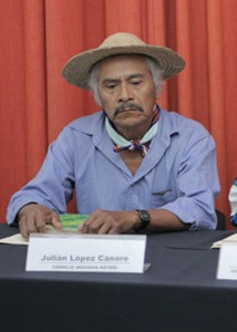 Julián López Cánare. Foto: Cencos