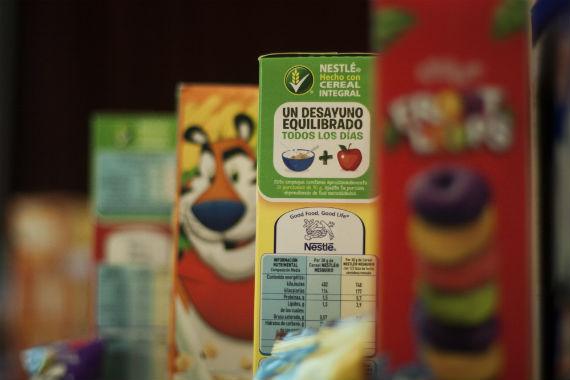 """Greenpace detectó que los cereales Kellogs contienen ingredientes o derivados de cultivos """"sospechosos"""" o transgénicos. Foto: Cuartoscuro."""
