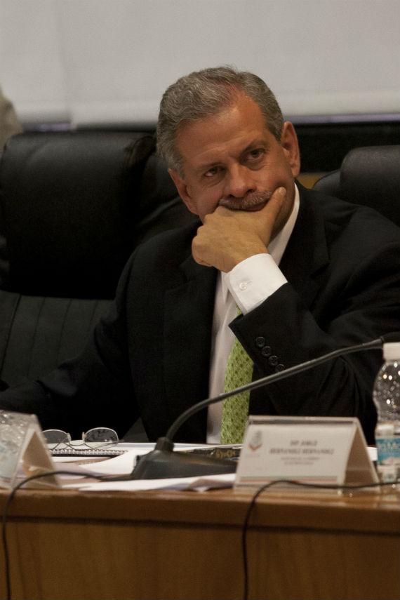 Sergio Hidalgo, presidente ejecutivo de OHL México.