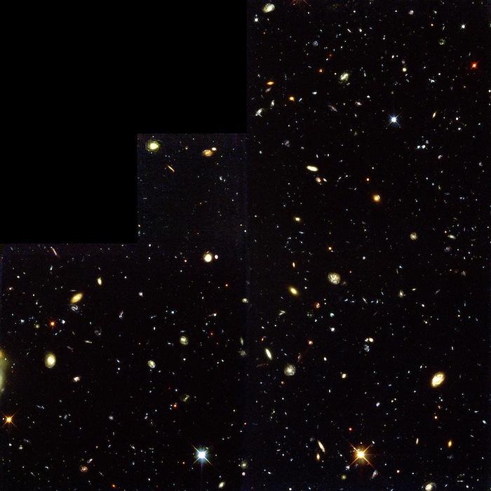 La imagen obtenida es una de las imágenes de luz visible/ultravioleta más profunda del universo jamás registrada. Foto: ESO