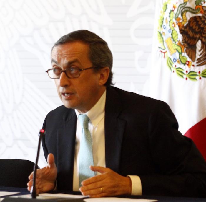 Juan Manuel Gómez Robledo, Subsecretario de la Cancillería de México. Foto: Cuartoscuro.
