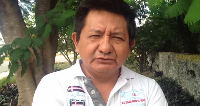 El periodista maya Pedro Canché fue encarcelado, acusado de sabotaje. Foto: Especial