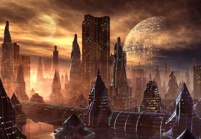 Aunque es más probable que lo que se encuentre en otros mundos sea vida microscópica, la idea de civilizaciones alienígenas es más seductora. Foto: Shutterstock