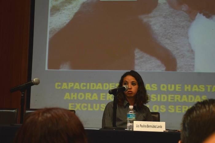 El Primer Congreso La Bioética y los Animales organizado por la FFYL, el Programa Universitaro de Bioética y el Proyecto Gran Simio México-España. Foto: Proyecto Gran Simio.