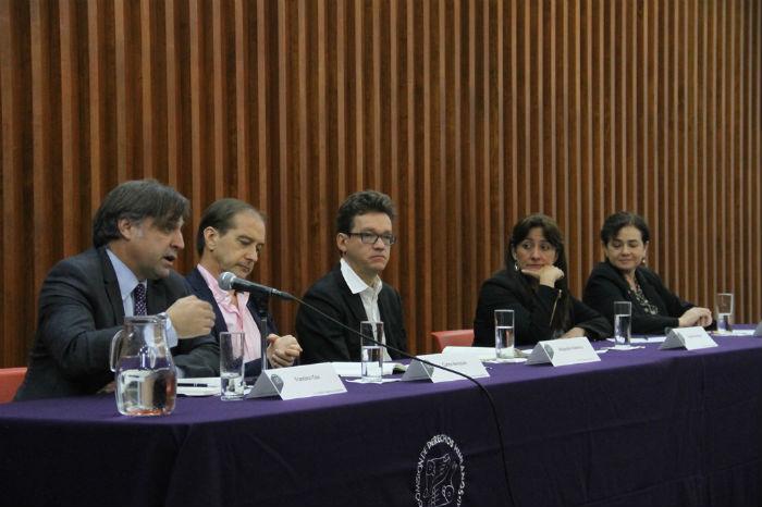 El grupo de expertos de la CIDH presentó el pasado 6 de septiembre el informe del caso Ayotzinapa. Foto: Luis Barrón, SinEmbargo