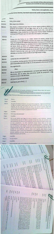 Los documentos