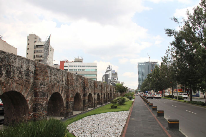 Los restos del Acueducto. Foto: Luis Barrón, SinEmbargo