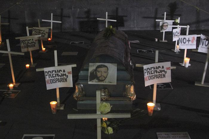 En México han sido asesinados 88 periodistas desde el año 2000, de acuerdo con cifras de Artículo 19 que incluyen el homicidio de Espinosa Becerril. Foto: Cuartoscuro.