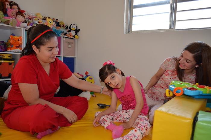 La infante fue diagnosticada con el Síndrome de Lennox-Gastaut y debido a esa epilepsia infantil, catalogada como muy agresiva, presentaba 400 crisis de convulsiones al día. Foto: Cuartoscuro