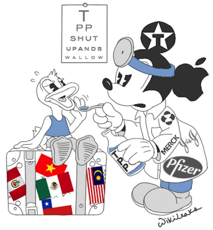 Negociado en Secreto, el TPP pondría en riesgo la salud de millones de personas, sino también su economía. Imagen: Cortesía