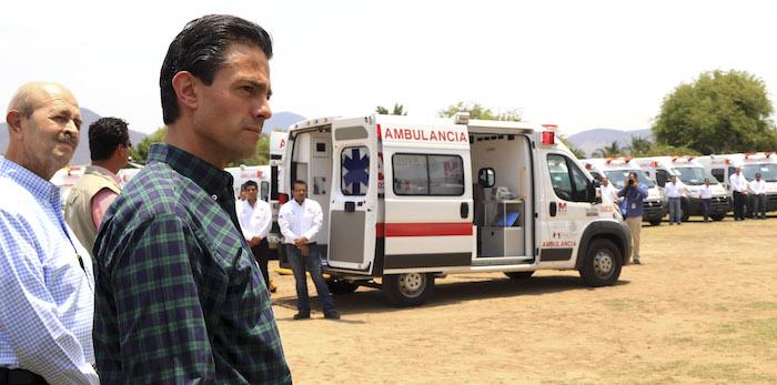 Las llamadas Unidades Móviles de Atención o Caravanas de la salud son otra estrategia del Gobierno para llevar atención a comunidades marginadas, pero especialistas consultados afirman que son ineficaces. Foto: Cuartoscuro