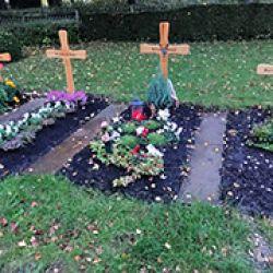En Oberndorf, donde está la fábrica de Heckler & Koch, los hijos entierran a sus padres