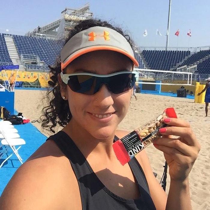 La voleibolista dio positivo tras la prueba realizada en noviembre pasado. Foto: @marthita10
