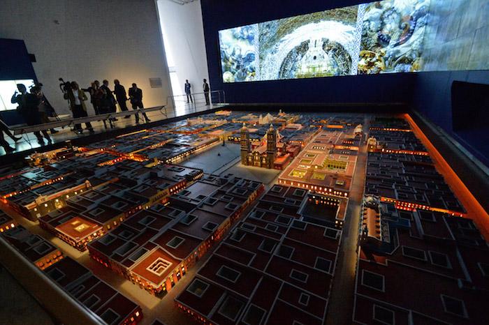 El Museo Internacional del Barroco fue diseñado por el japonés Toyo Ito. Foto: Cuartoscuro
