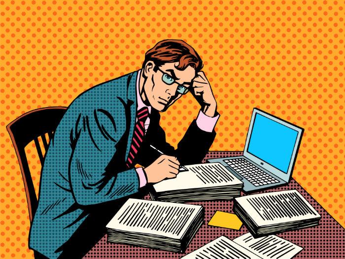 Los escritores escriben y también responden preguntas. Foto: Shutterstock