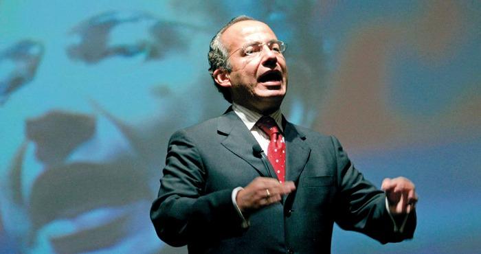 Felipe Calderón defendió su llamada guerra contra las drogas, que dejó más de 60 mil muertos. Foto: EFE/Archivo