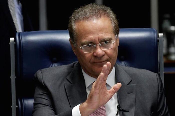 Renan Calheiros, presidente del Senado brasileño. Foto: EFE