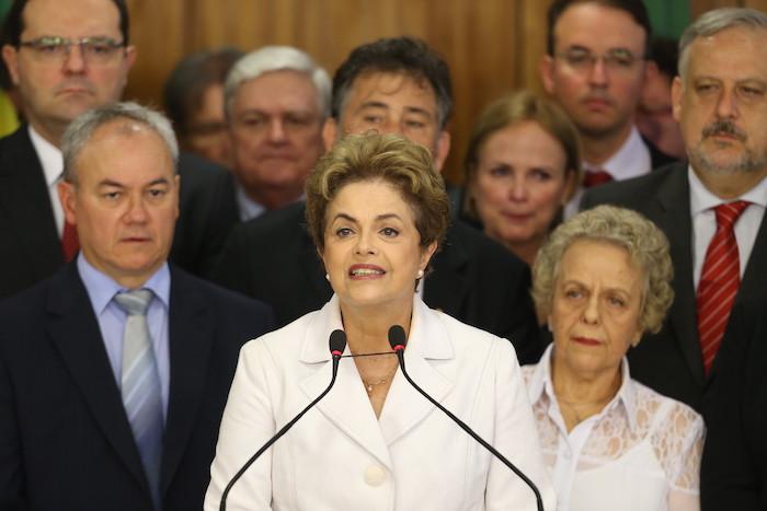 La Presidente Dilma Rousseff. Foto: Xinhua