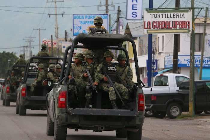 Amnistía Internacional recomienda al Presidente Enrique Peña Nieto retirar al Ejército de las calles. Foto: Cuartoscuro.