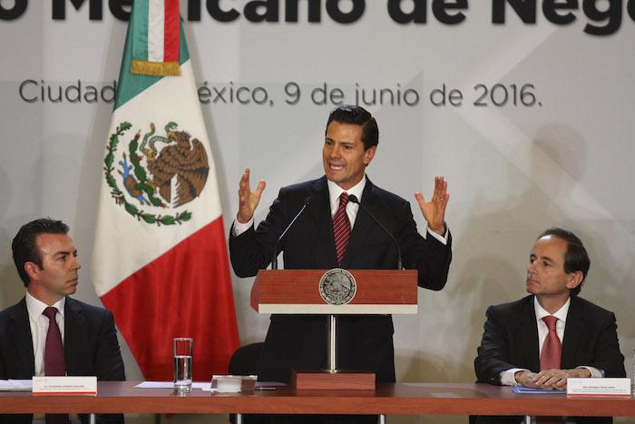 """Enrique Peña Nieto, Presidente de la República, protagonizó episodios como la fuga de """"El Chapo"""". Foto: Adolfo Vladimir, Cuartoscuro"""