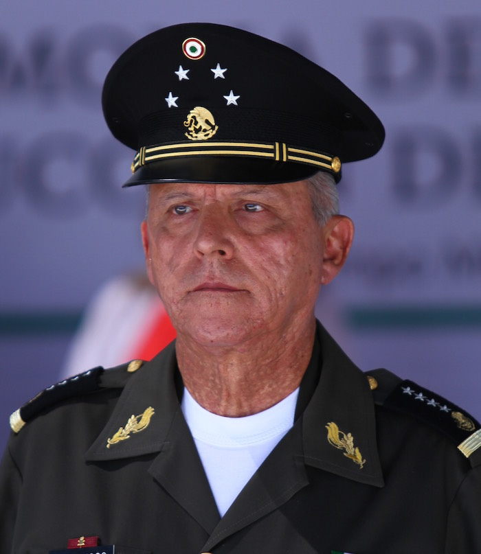 El General Salvador Cienfuegos ha protegido a sus soldados de que rindan declaración en el caso de Ayotzinapa. Foto: Cuartoscuro