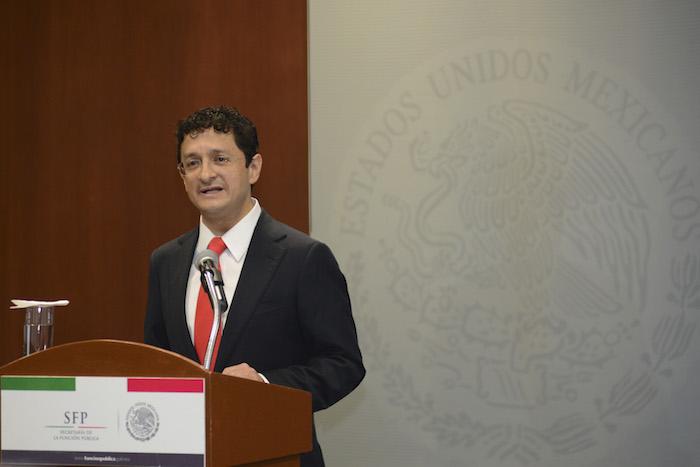 Virgilio Andrade, presentó su renuncia al frente de la Secretaría de la Función Pública. Foto: Cuartoscuro