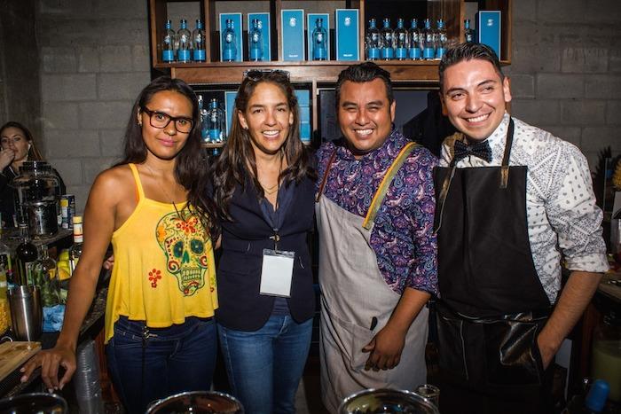 Azanthy Dokins, Bertha González, Osvaldo Vázquez y Edgar Rueda. Foto: Another Company