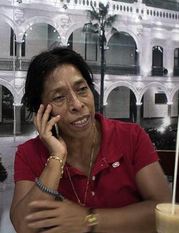 La corresponsal de la revista Proceso en Veracruz, Regina Martínez, fue asesinada en su casa en abril de 2012. Foto: Blog Expediente