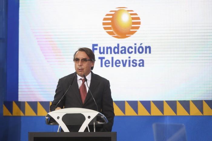 En la imagen Emilio Azcarraga Jean, presidente del grupo Televisa. Foto: Cuartoscuro