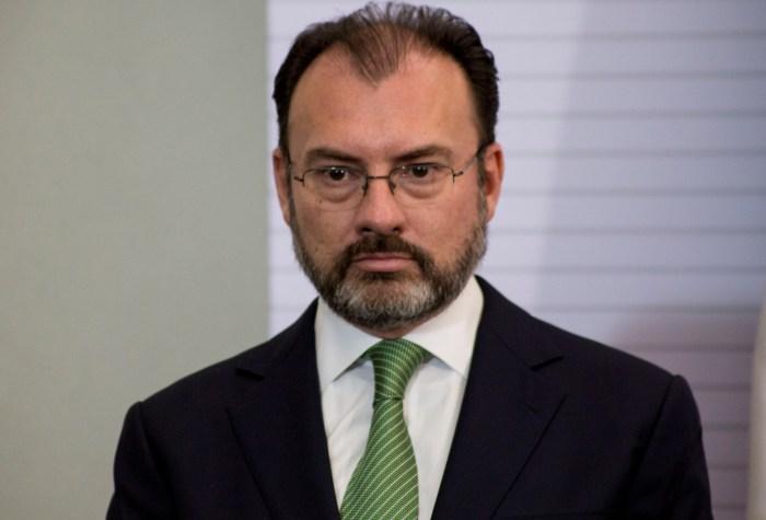 Luis Videgaray es desaprobado por la oposición para negociar con los Estados Unidos bajo el cargo de Secretario de Relaciones exteriores. Foto: Cuartoscuro