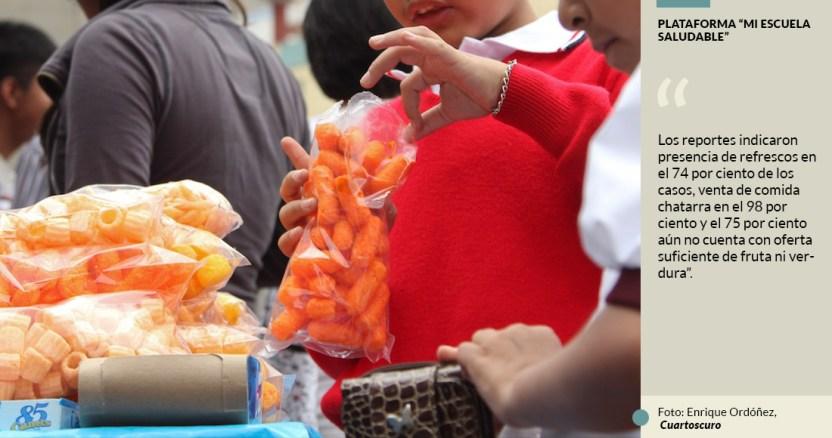 escuela - Por la puerta grande, denuncian, la chatarra entra a escuelas y nutre crisis de obesidad infantil