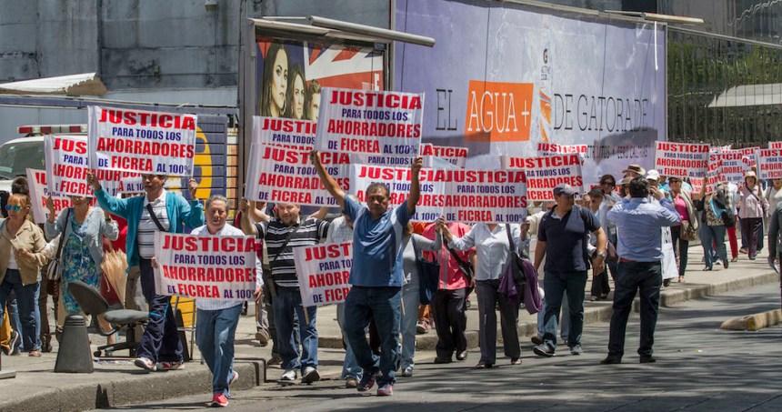 ficrea protesta - Depósitos del TSJ de Coahuila a Ficrea se triangularon a través de BBVA y dos empresas más