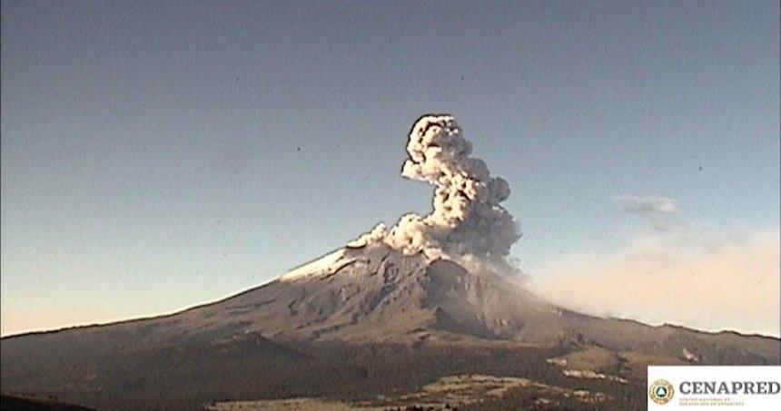 popo 2 - Protección Civil pide a ciudadanos no subir al cráter del Popo; no debe ser un reto, es imprudente, dice