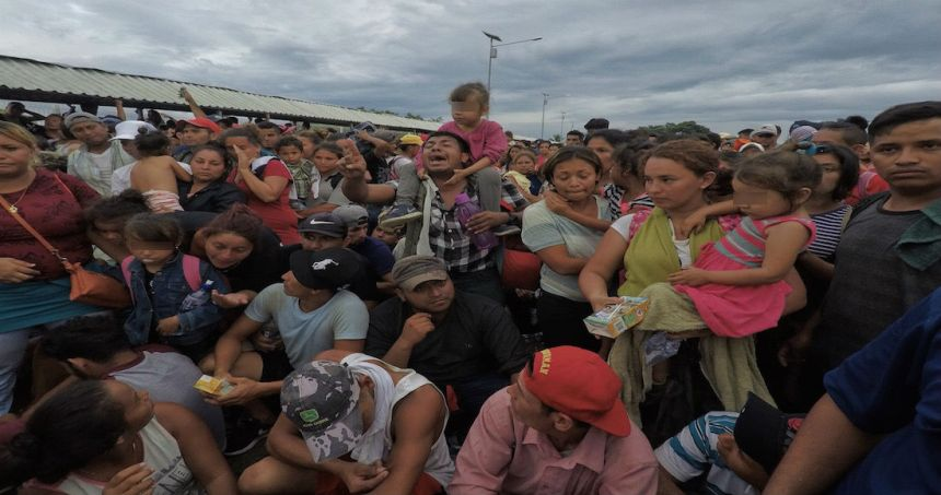 """caravana migrante mexico 1 1 1 - Más de 300,000 firman para renombrar la calle donde está la Torre Trump y ponerle """"Barack Obama"""""""