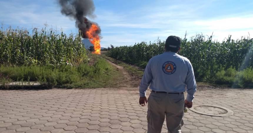 gas 1 - Policía Federal asegura 42 pipas con más de 200 mil litros de gas LP en el Edomex; hay 6 personas detenidas