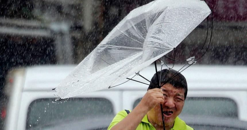 tifon - China: el tifón Lekima toca tierra y deja 18 personas muertas; 14 más están desaparecidas