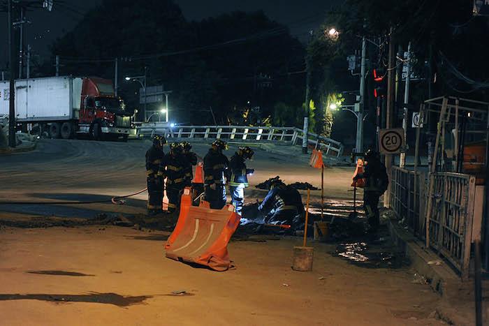 fuga de gas natural viaducto 1 - Por nueva fuga de gas desalojan a personal y pacientes de un hospital en Iztacalco, CdMx