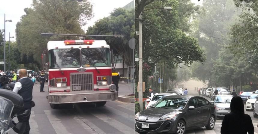 incendio polanco - VIDEOS: Fuerte incendio consume una bodega en calles de la colonia Morelos, en la CdMx