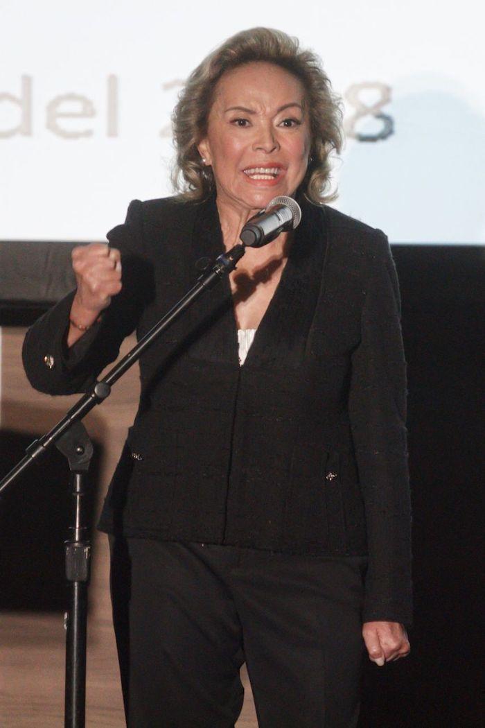 La maestra Elba Esther Gordillo, ex lideresa del SNTE, en agosto de 2018. Foto: Isaac Esquivel, Cuartoscuro