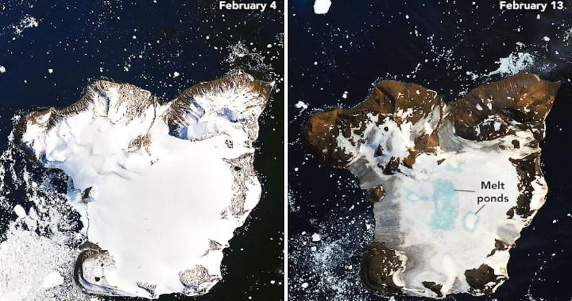 deshielo antartida - La Antártida y Groenlandia pierden hielo 6 veces más rápido que en los 90, concluyen científicos polares - #Noticias