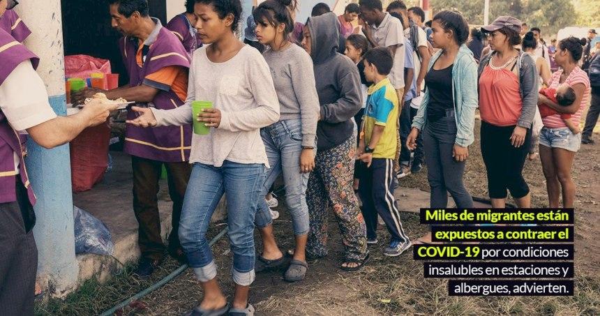 photo5159374793861081174 - Activistas piden liberar a migrantes detenidos en EU; el hacinamiento los expone al COVID-19, alertan