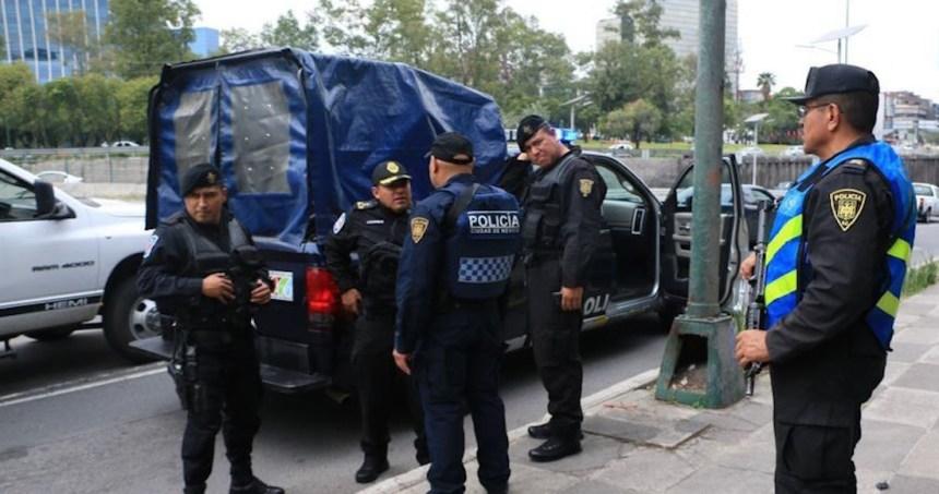 policias ciudad mexico presentaron sintomas 0 1 958 596 - Enfrentamiento armado deja 5 personas muertas y otra más herida de gravedad en Celaya, Guanajuato