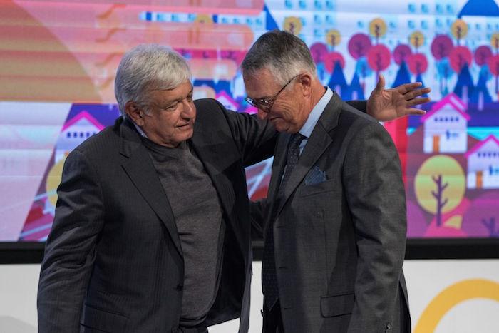 Andrés Manuel López Obrador y Ricardo Salinas Pliego.